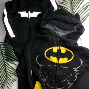 2 Batman Sweater Hoodie Size Small